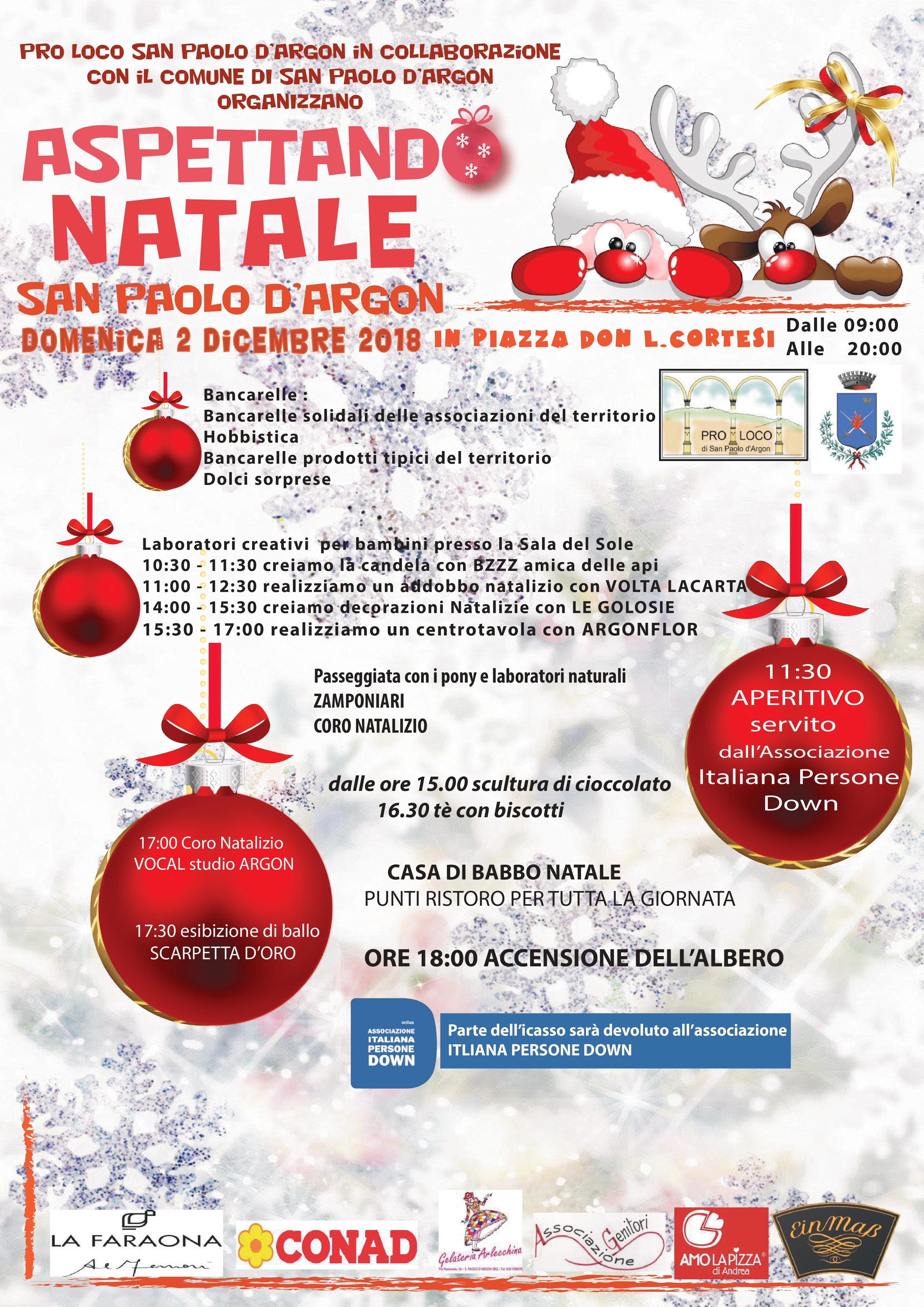 Immagini Aspettando Natale.Aspettando Natale A San Paolo D Argon Radio 2 0