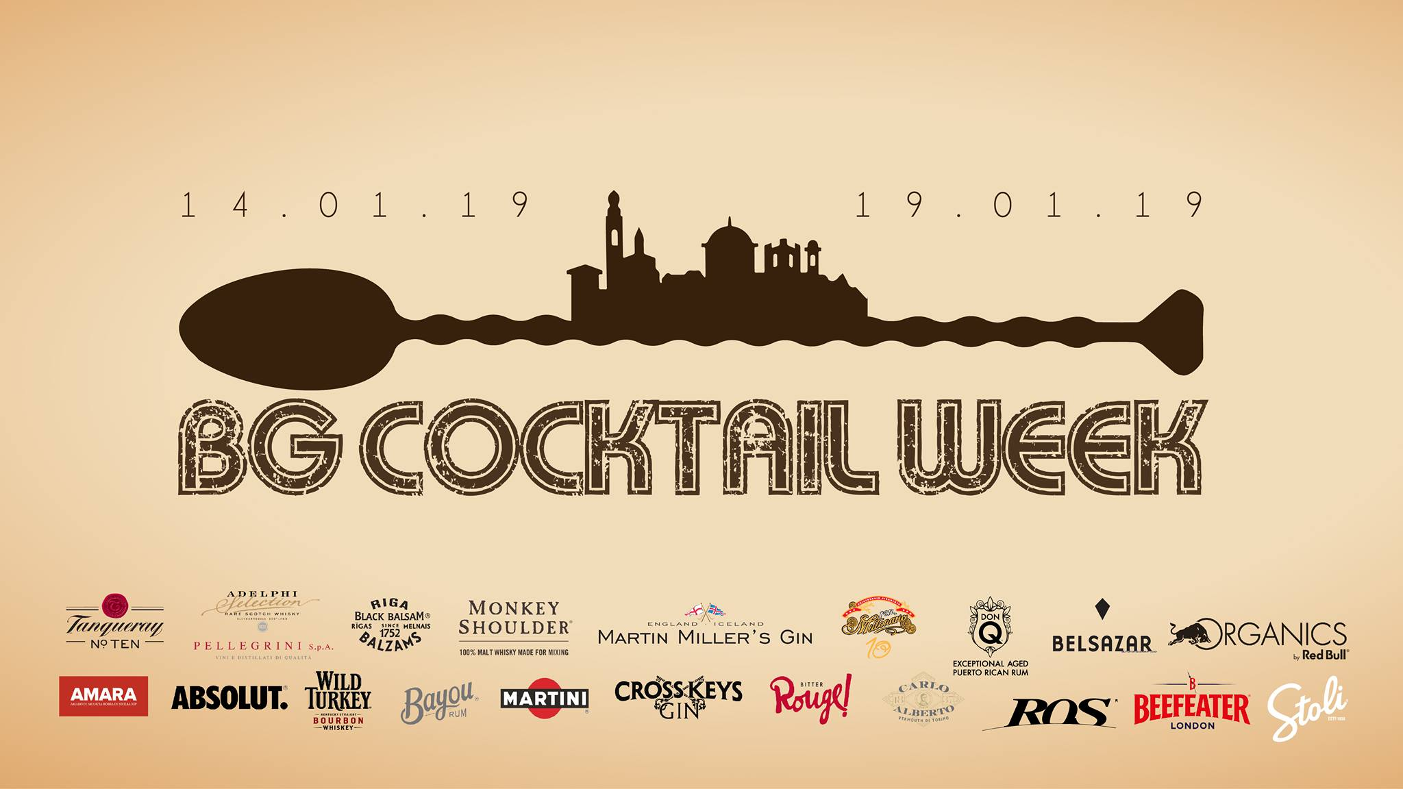 Locandina cocktail week